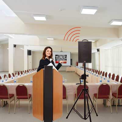 Lectern Flash for Congress Centers